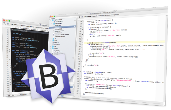 BBEdit full screenshot